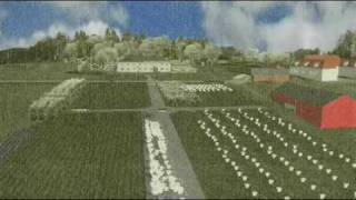3D rconstruction of historical gardens, the case of Stend in Bergen: group North part-2