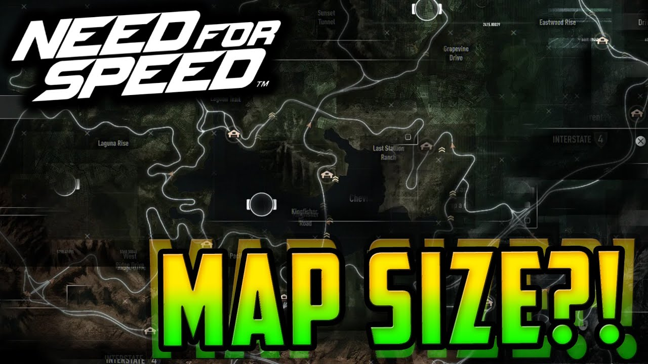 Need For Speed 2015 Game Map Size 2x Bigger Than Nfs Rivals