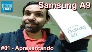 Neste vídeo apresento o Samsung Galaxy A9. Apesar de ser um smartph...