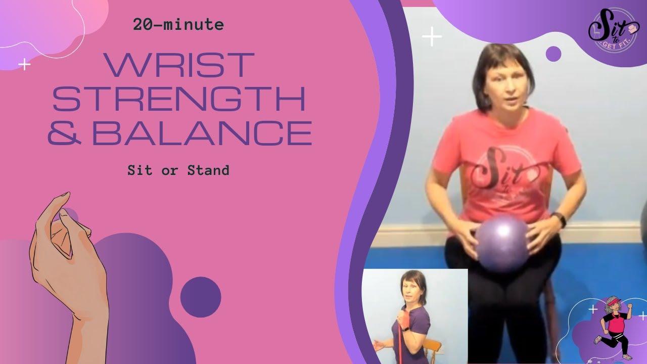 Wrist Strength & Balance Workout