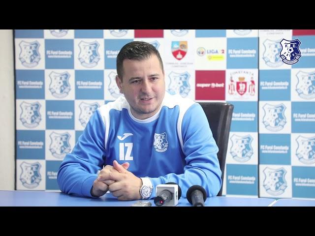 Conferință de presă înaintea partidei FC Farul Constanța - Turris Turnu Măgurele