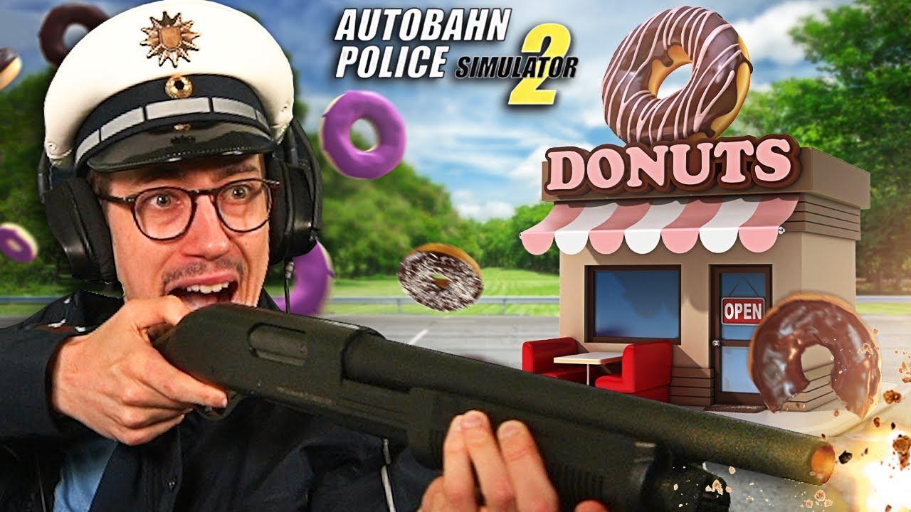 Donut Laden vor Mafia gerettet | Autobahn Polizei Simulator 2