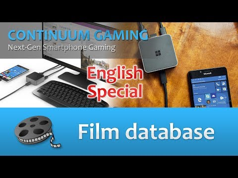 Microsoft Continuum Gaming: Special Edition zu Episode 60 in English! (Film database)