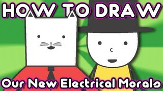 How to Draw: Our New Electrical Morals on Cartoon Hangover