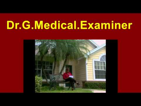 Dr  G Medical Examiner  103