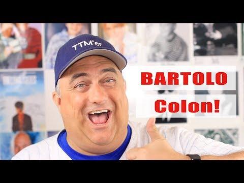 Bartolo Colon, Joaquin Benoit and more TTM Autographs!