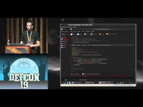 DEFCON 19: Ruling The Nightlife Between Shutdown And Boot With Pxesploit (w speaker)