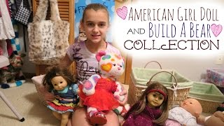 American Girl Doll & Build A Bear Collection