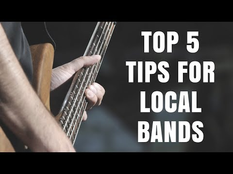 TOP 5 TIPS FOR BANDS