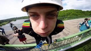 Nikitos Cvetkovo šuolis su virve || Getmental.lt || Kaunas