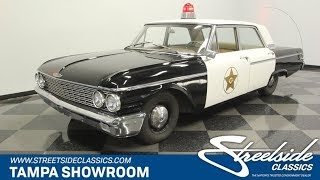 1962 Ford Galaxie 500 Mayberry Police Car for sale | 1806 TPA