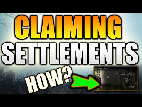 How to CLAIM A SETTLEMENT in New World MMO! New World Settlements - New World MMO Owning a Territory