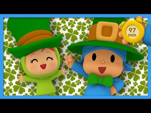 🍀pocoyo-and-nina---happy-saint-patrick's-day---97-min-|-animated-cartoon-for-children-|full-episodes