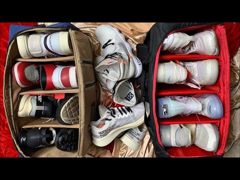 MY OFF-WHITE COLLECTION (SNEAKERS, ACCESSORIES, & BAGS) // CARLO OPLE