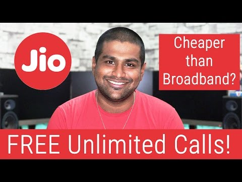 Reliance Jio for All - Official Plans, FREE Unlimited Calls, Cheap Data & more...