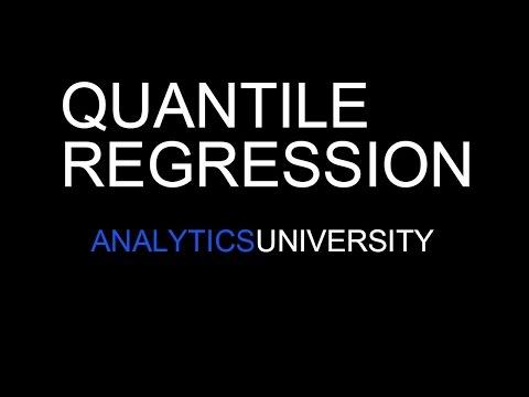 Quantile Regression Theory | Non OLS Regression