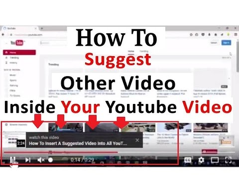 [Hindi]How To Suggest Other Video Inside Your Youtube Videos