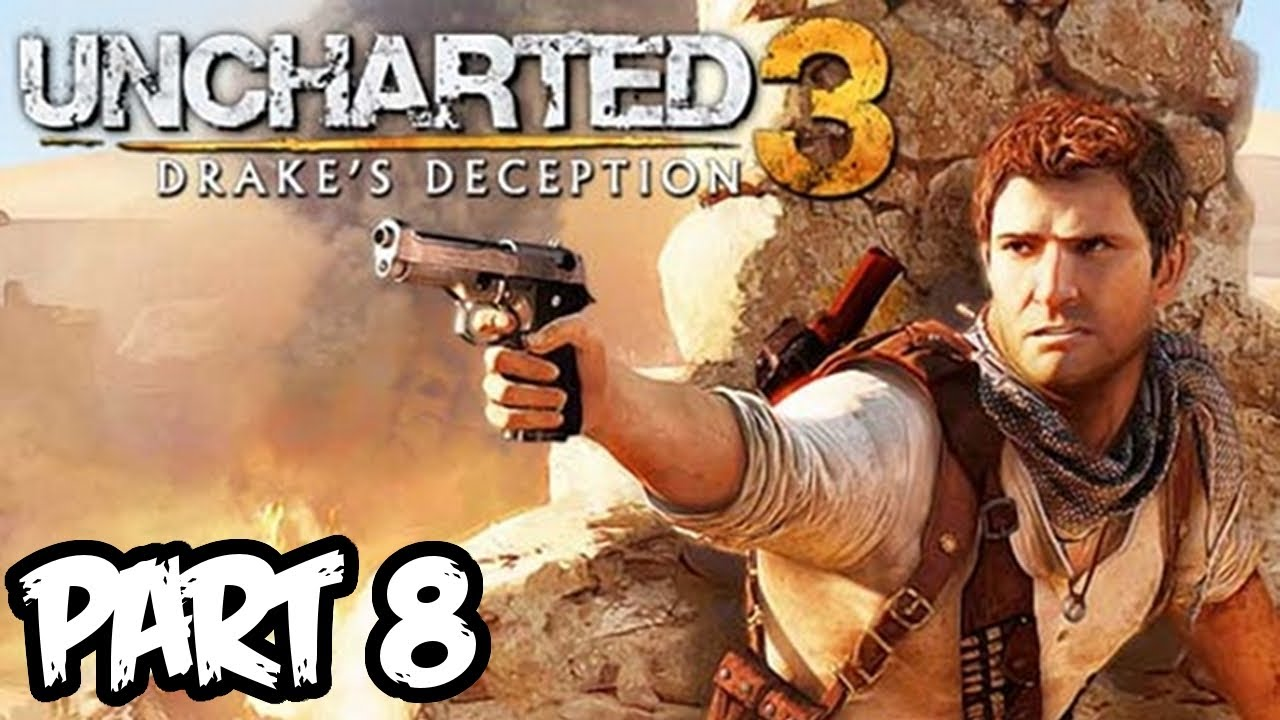 Uncharted 3 Walkthrough Part 8 Hd Chapter 6 Puzzle Town Ps3