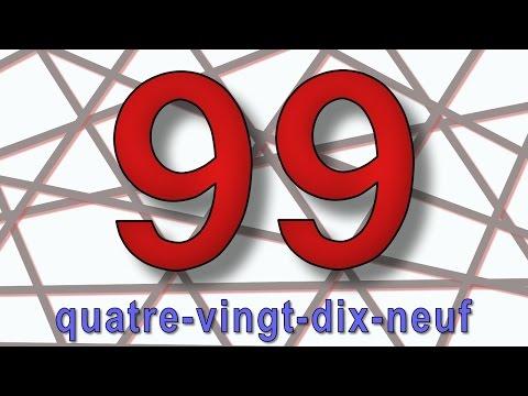 Les chiffres de 70 à 100 - alain le lait (French numbers)