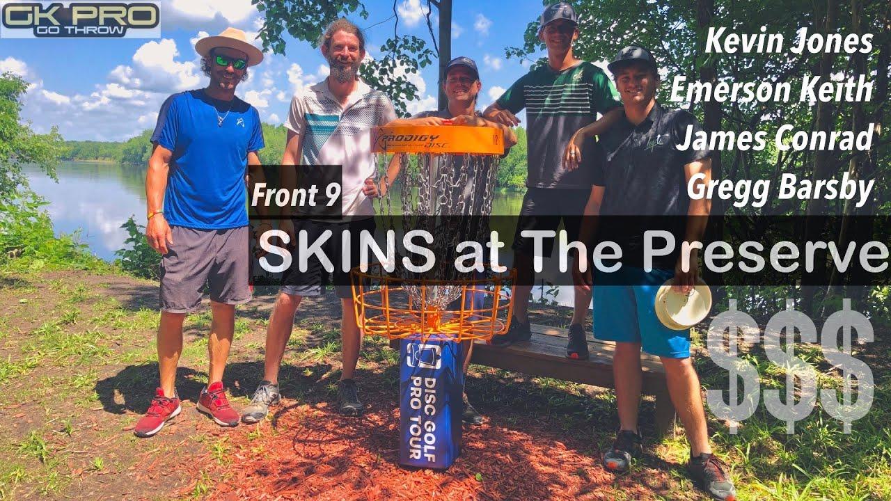 OTB Tour Series Skins #2   F9   Jones, Barsby, Keith, Conrad