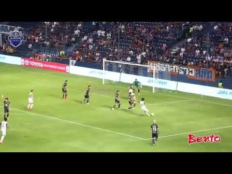 ไฮไลท์ โตโยต้า ไทยพรีเมียร์ลีก 2014 บุรีรัมย์ 2-0 ชลบุรี และสัมภาษณ์หลังเกม