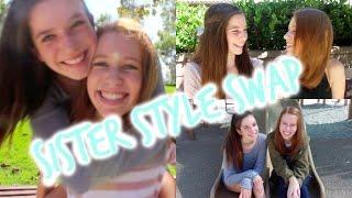 Sister Style Swap! Thumbnail