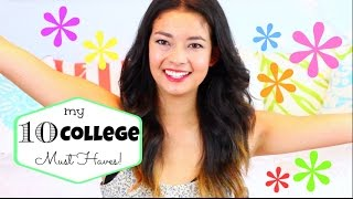 My 10 College Must Haves! ♡ 50 VoSummer Thumbnail