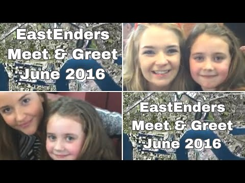 Brooke meeting Lauren (Jacqueline Jossa) Abbie (Lorna Fitzgerald) Stephen (Aaron Sidwell) June 2016