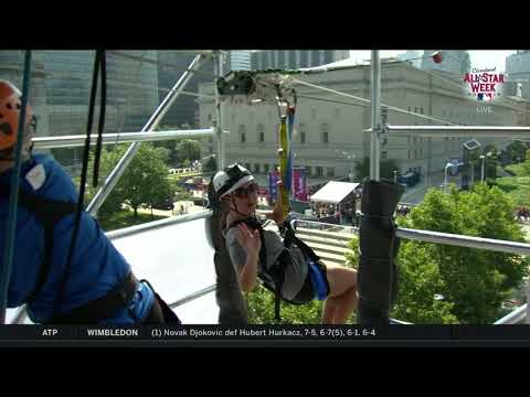 Don Action Jackson - Here's What You'll See On The All Star Zip-line At Play Ball Park