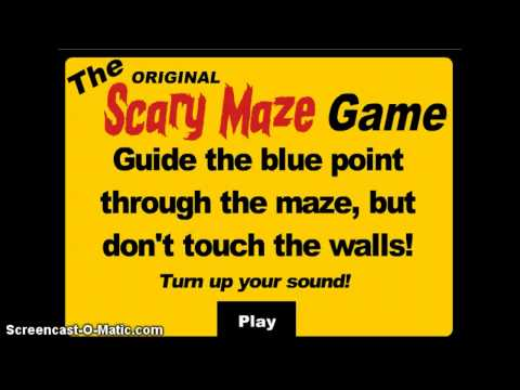 Scary Maze Game Rage Quit