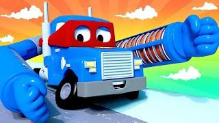 Xe tải máy sưởi - Thành phố xe 🚗 những bộ phim hoạt hình về xe tải l Vietnamese Cartoons for Kids