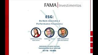 UFFinance Week  - Painel sobre ESG (07/10)