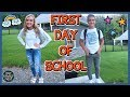 FIRST DAY OF SCHOOL & MORNING ROUTINE!!