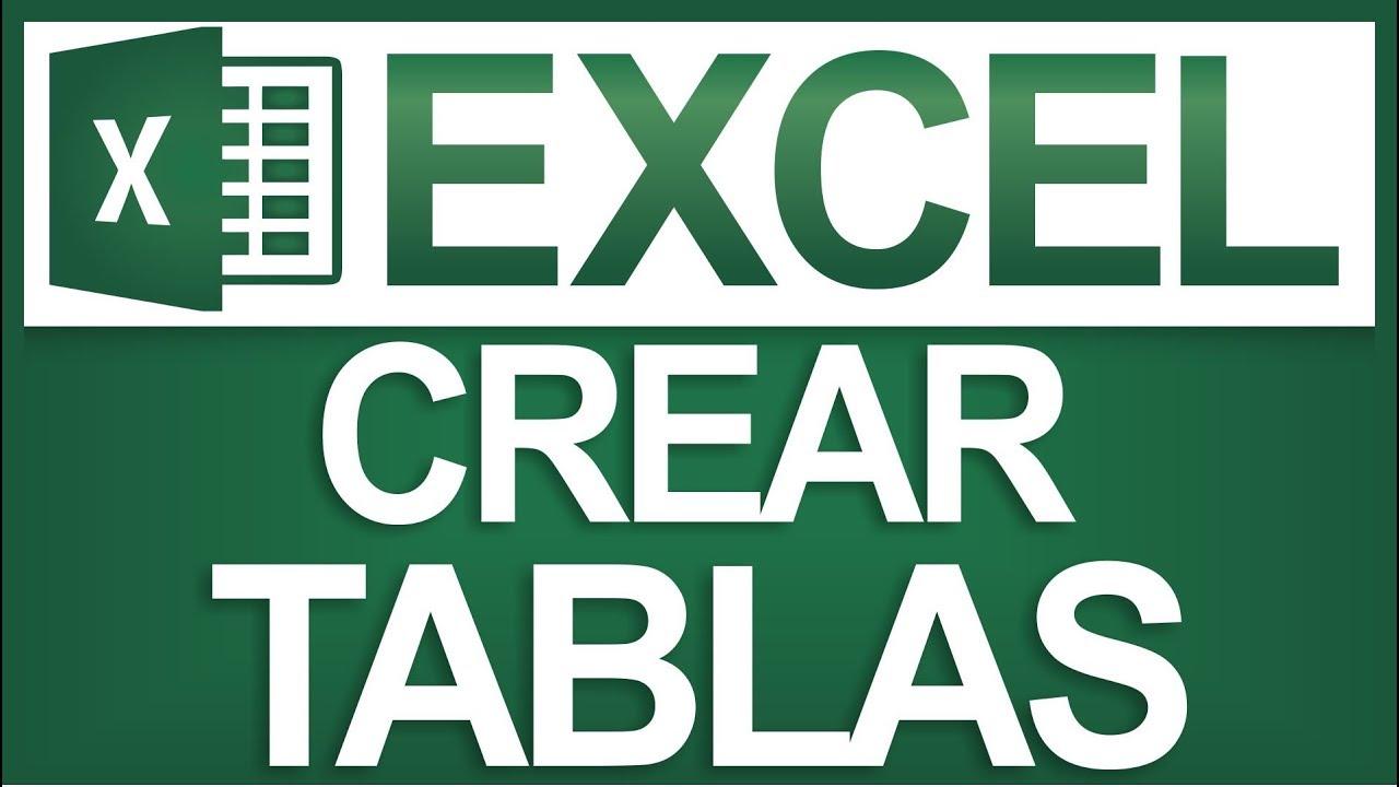 Crear Tablas Automáticamente en Excel – Dosti…