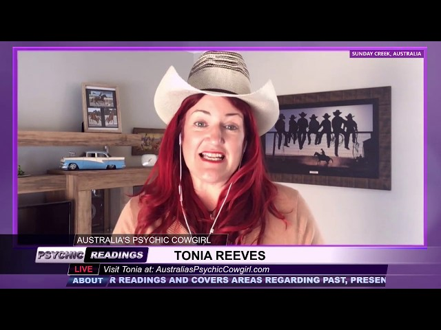 Australia's Psychic Cowgirl - March 13, 2019