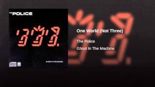 One World (Not Three)
