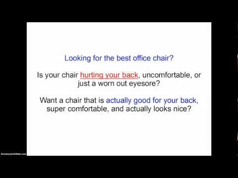 hqdefault - Best Work Chairs For Sciatica
