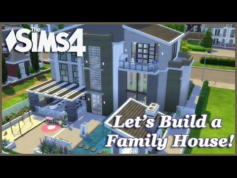 The Sims 4 - Let's build a Family House (Part 9) Realtime