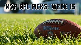 2016 NFL Week 15 Picks
