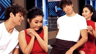 Noah Centineo Can't Hide his Affection for Lana Condor streaming