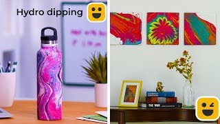 20 Easy Painting Hacks for Beginners! | Learn How to Paint!! | Tutorials by Blossom