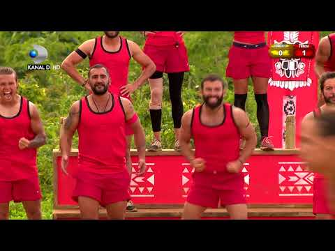 Exatlon Romania (24.02.2018) - Romania - Turcia, meci international pe traseu nou! Ep 28, Partea 3