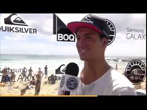 Gabriel Medina Blunt Post Heat Interview at Quiksilver Pro Gold Coast