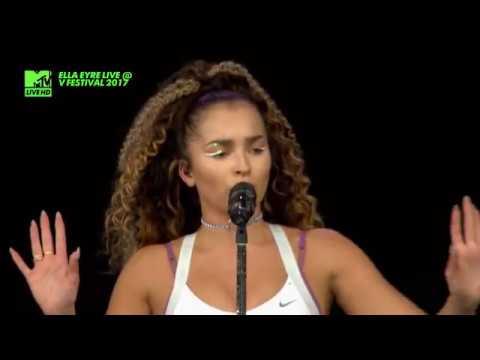 ELLA EYRE - Came Here For Love  LIVE @ V FESTIVAL 2017