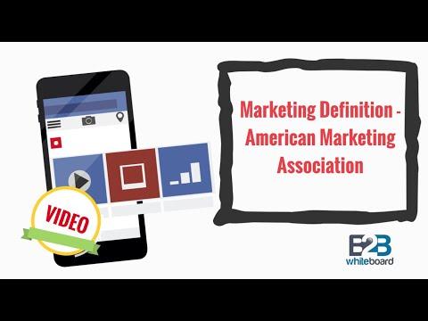 Marketing Definition - American Marketing Association