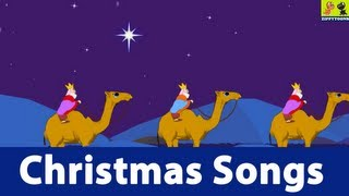 Nursery Rhymes | We Three Kings | Animated Christmas Songs With Lyrics For Kids
