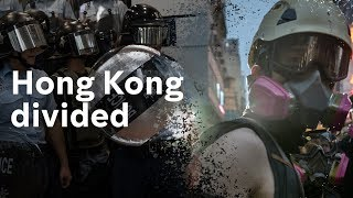 Hong Kong divided: clashes continue on eleventh week of protests