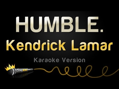 Download Youtube: Kendrick Lamar - HUMBLE. (Karaoke Version)