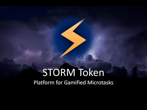 Storm - Microtasks on the Blockchain - Initial Token Offering