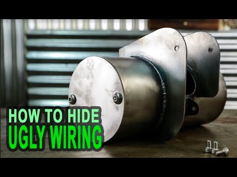 Honda Shadow Bobber E Tank - How To Hide Your Wiring on